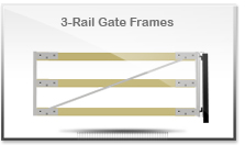 3-Rail Gate Frames