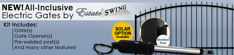 Estate Swing Electric Gate Package