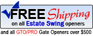 Free Shipping on GTO openers overs $500