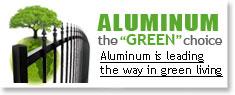 Aluminum is leading the way in green living